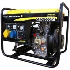 Changfa CED4000CXE Electric Start Diesel Generator
