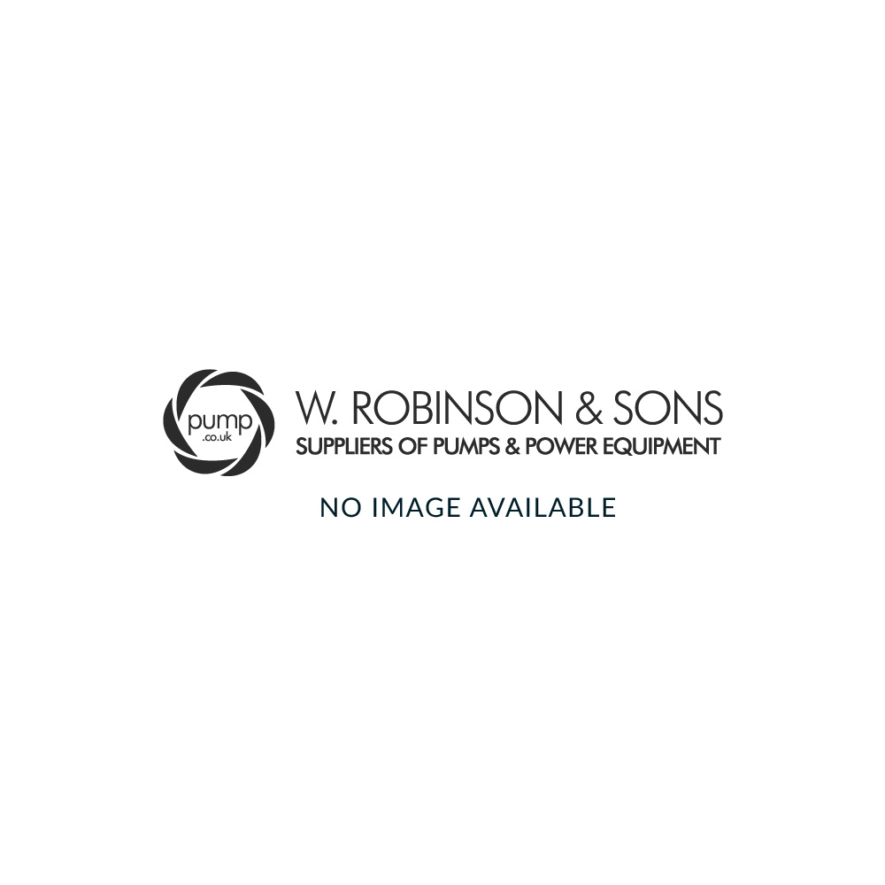 HM60H 60 Litre Horizontal Accumulator Pressure Vessel Stainless Steel