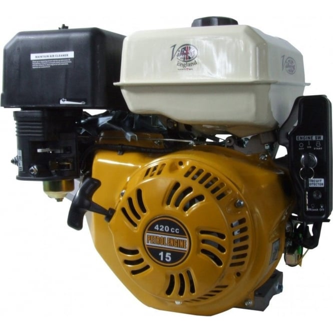 Villiers 15hp Petrol Engine Electric Start