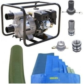 "Villiers 3"" Petrol Trash Pump Kit RT80WB"