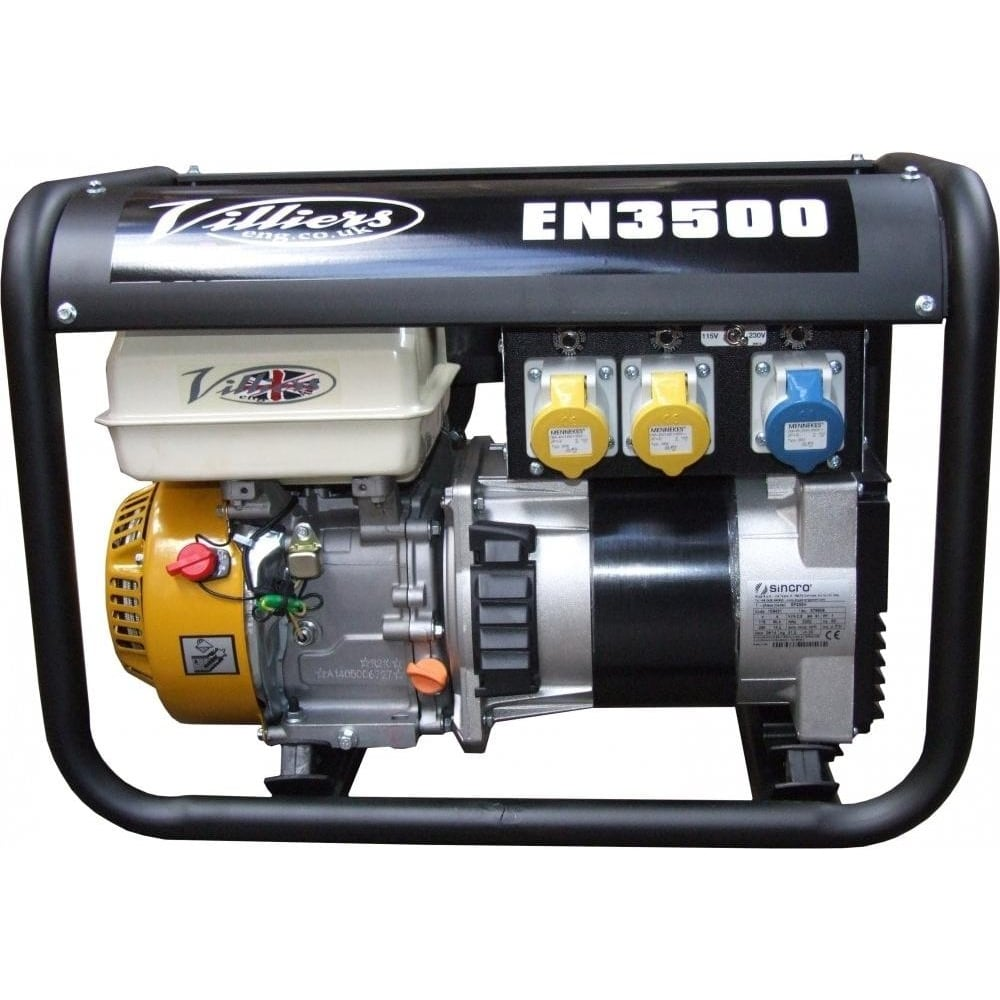 EN3500V 3 5kW Petrol Generator