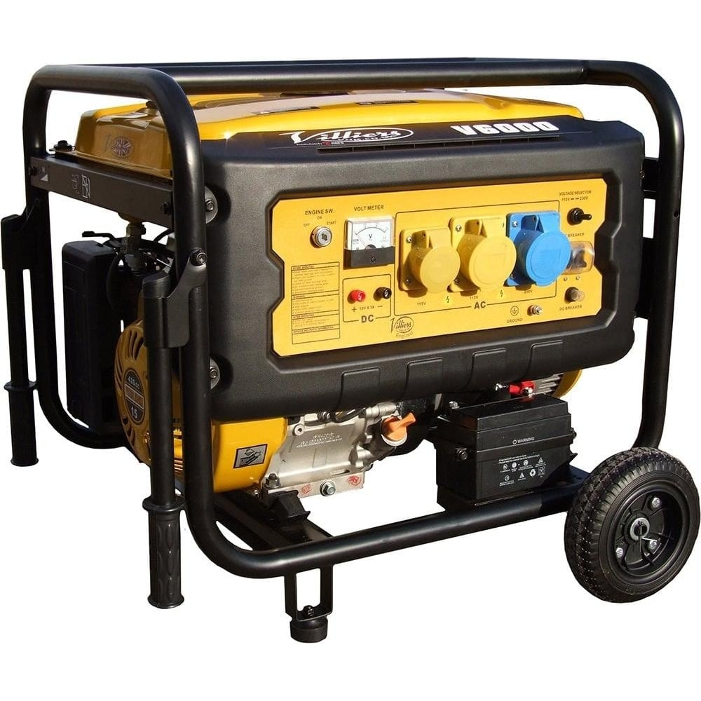 V6000ES 6kW Silent Petrol Generator